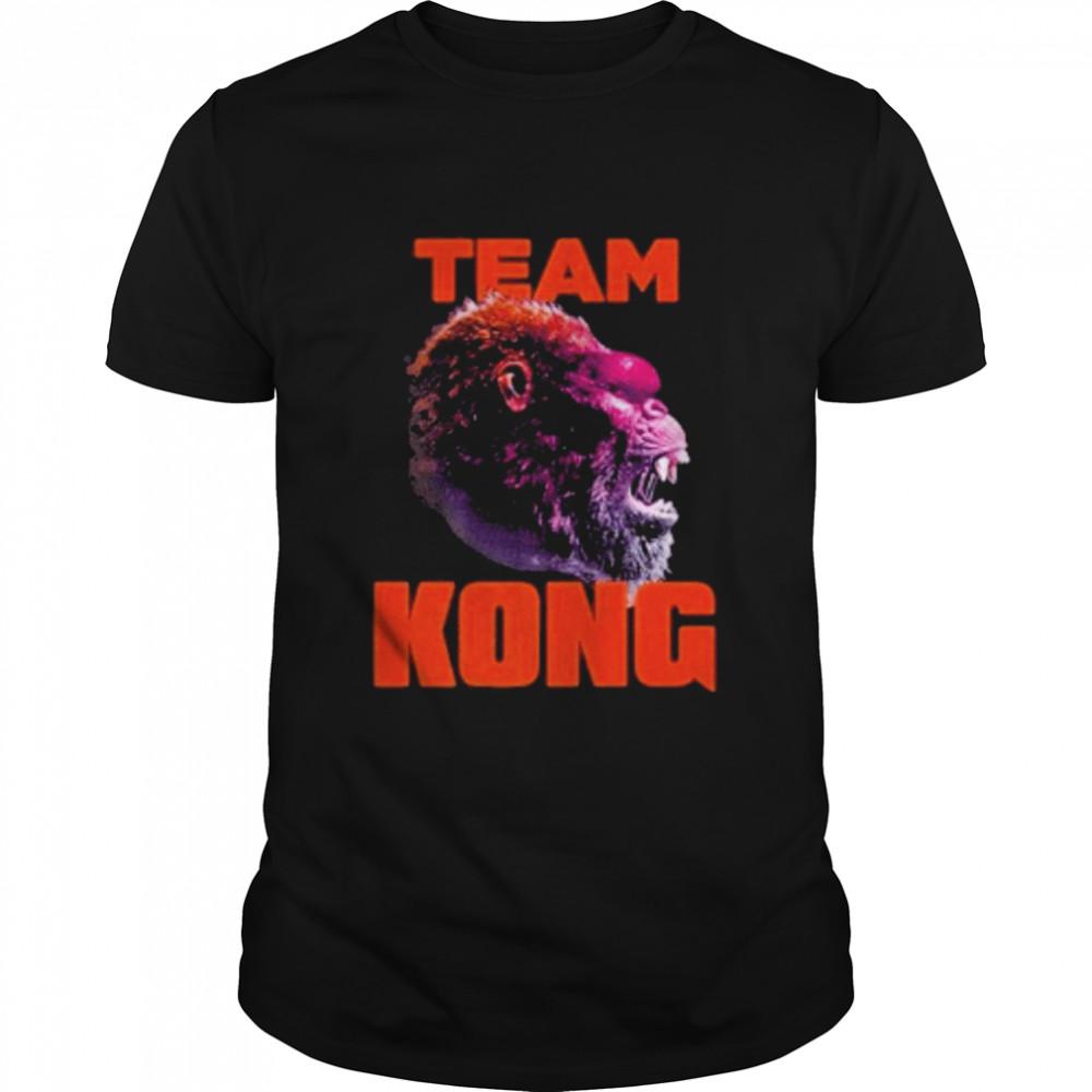 godzilla vs kong team kong neon 2021 shirt Classic Men's T-shirt