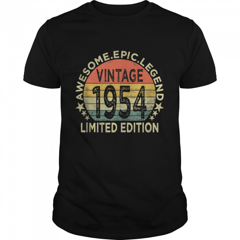 Vintage 1954 67 Year Old 67th Birthday shirt Classic Men's T-shirt