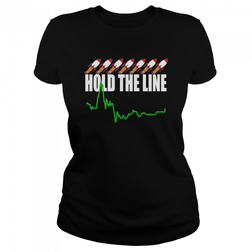 Wall Street Stonk Stocks shirt Classic Women's T-shirt