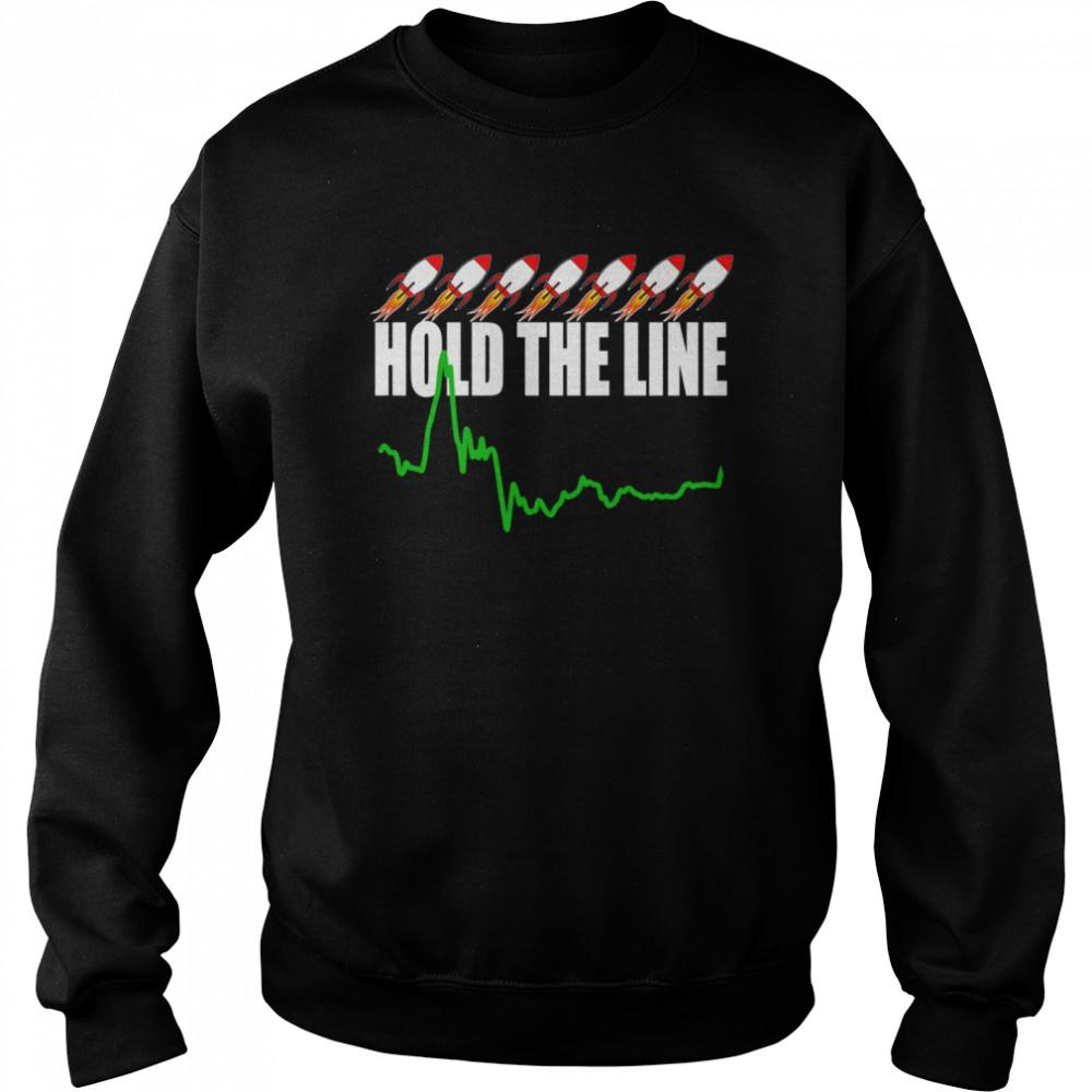 Wall Street Stonk Stocks shirt Unisex Sweatshirt