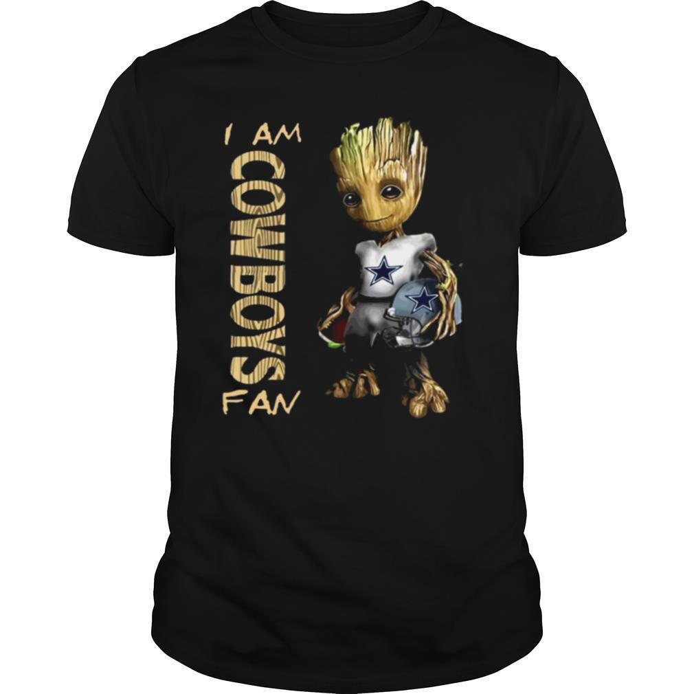 Baby Groot Hug Helmet I'm Cowboys Fan 2021 shirt Classic Men's