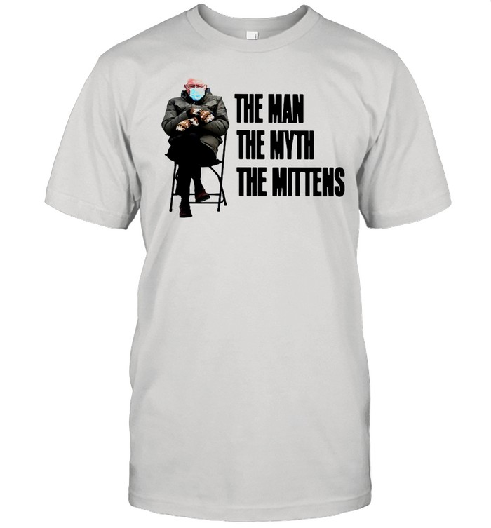 Bernie Sanders The Man The Myth The Mittens shirt Classic Men's T-shirt