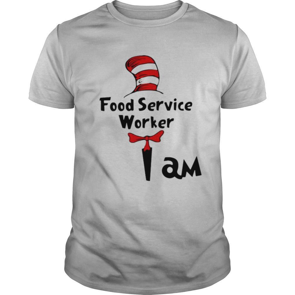 Food Service Worker I Am shirt Classic Men's