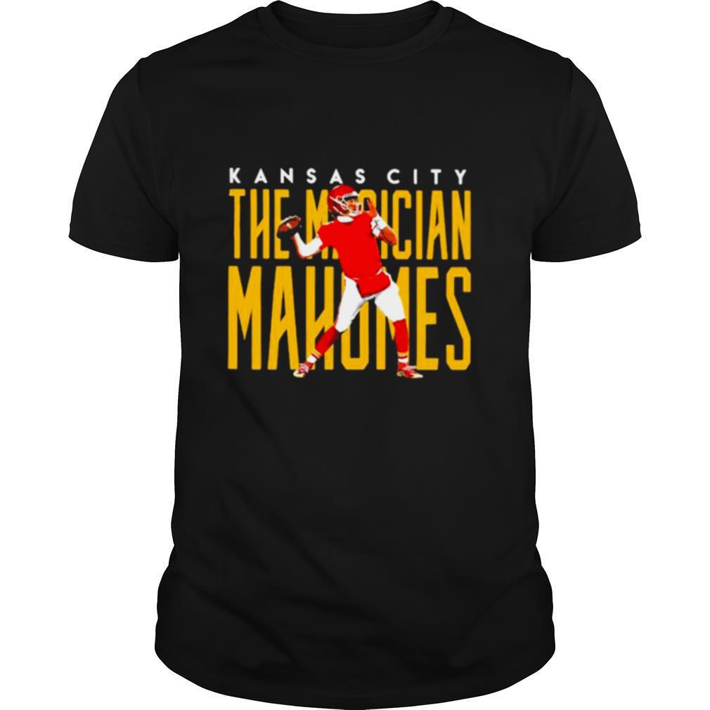 Kansas City The Magician Mahomes Football shirt Classic Men's