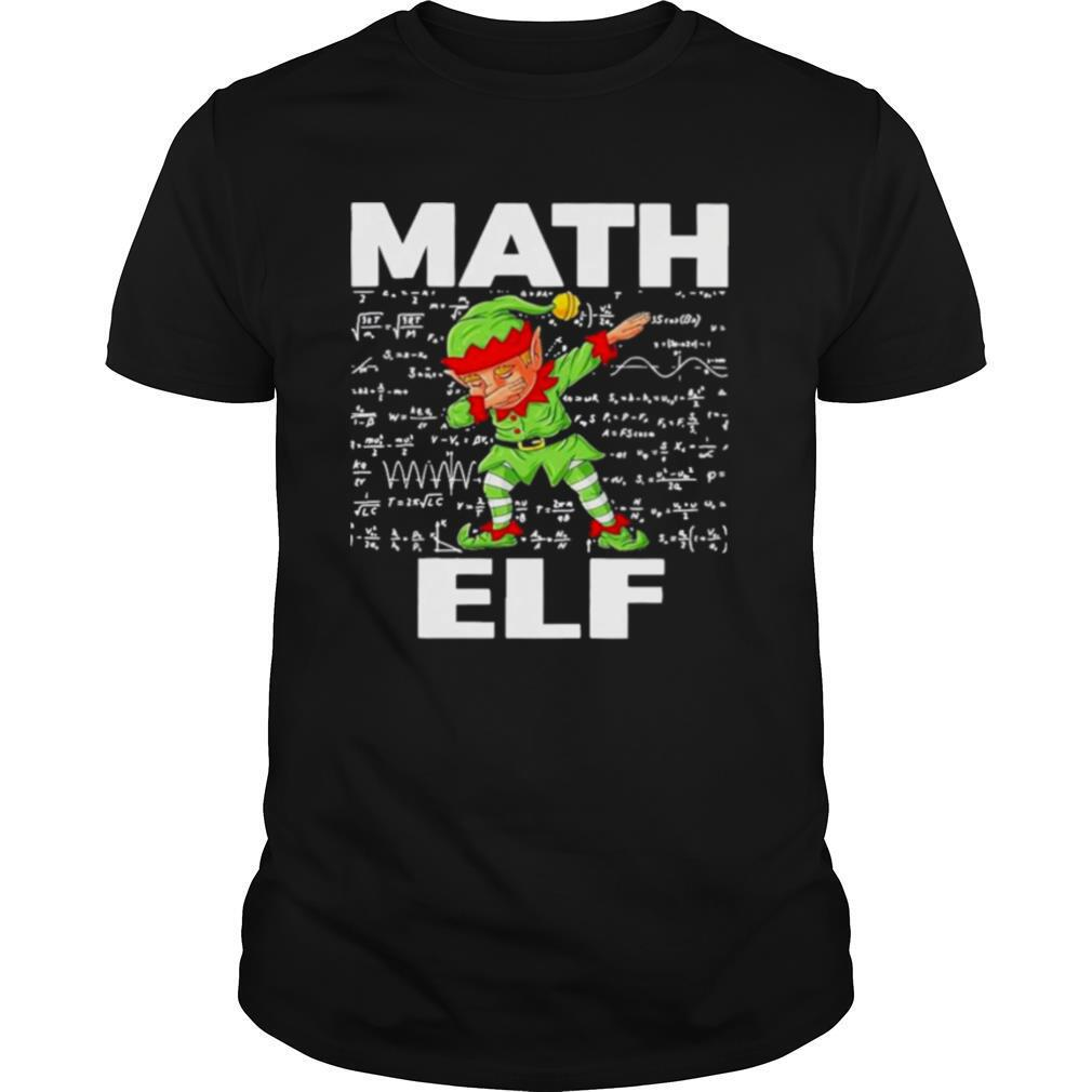 The Math Elf Dabbing 2021 shirt Classic Men's