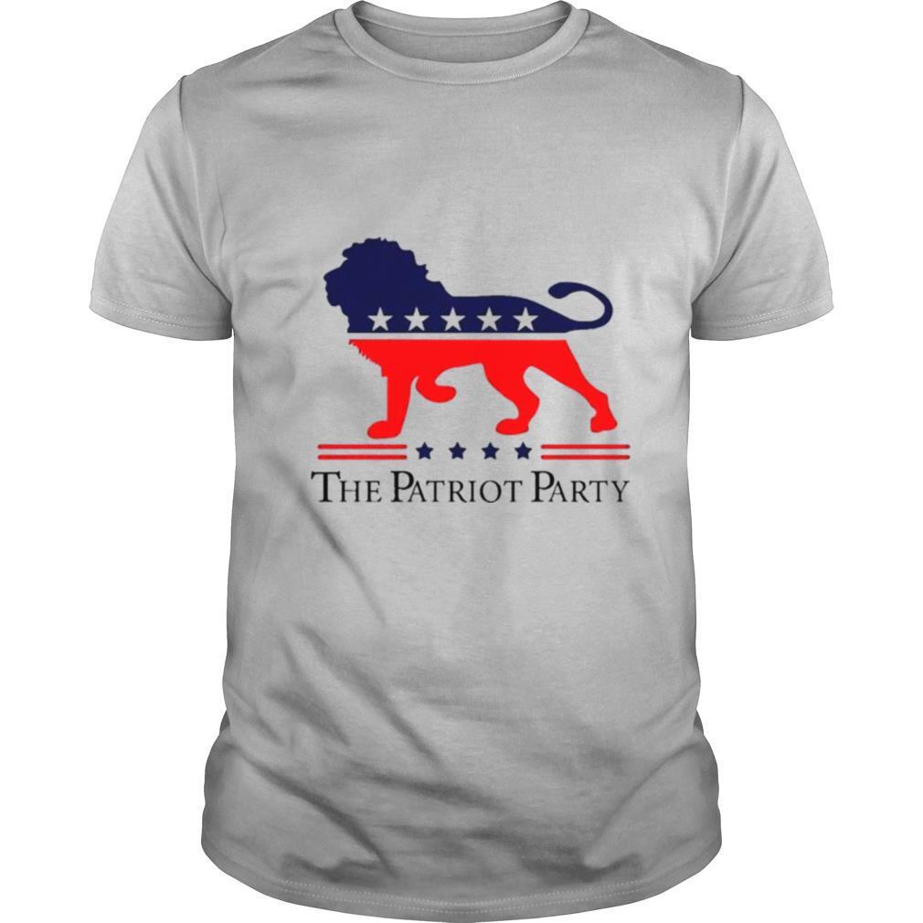 The Patriot party 2021 shirt Classic Men's