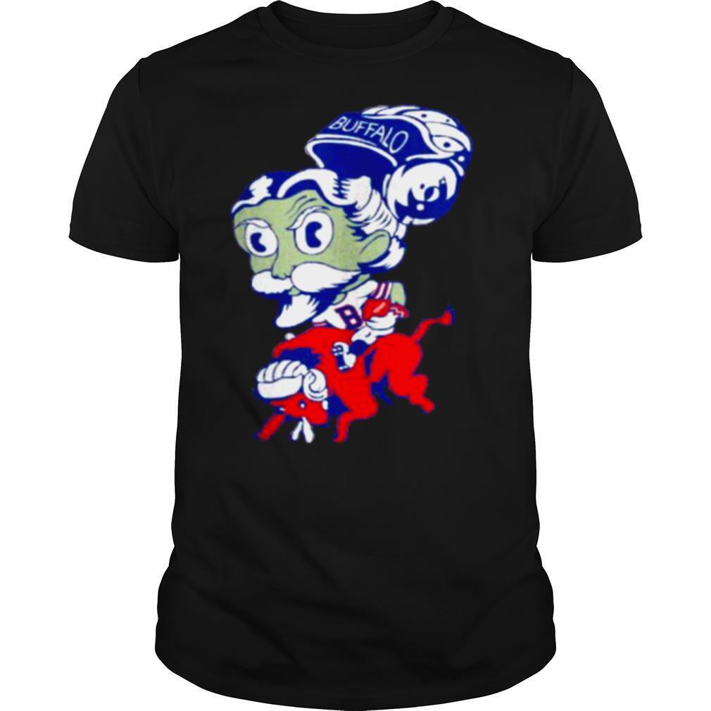 Bison Buffalo Bill Vintage Football Lightweight shirt Classic Men's