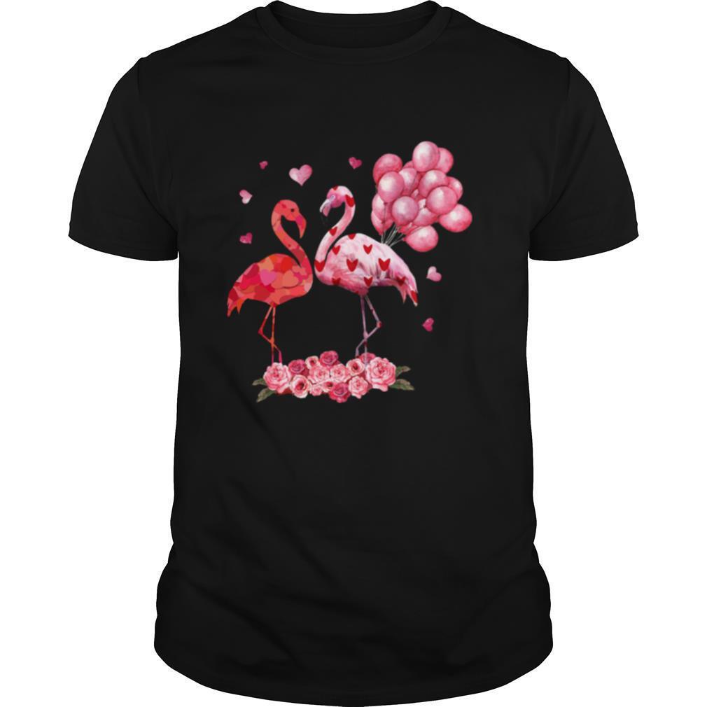 Flamingo Happy Valentine's 2021 shirt Classic Men's
