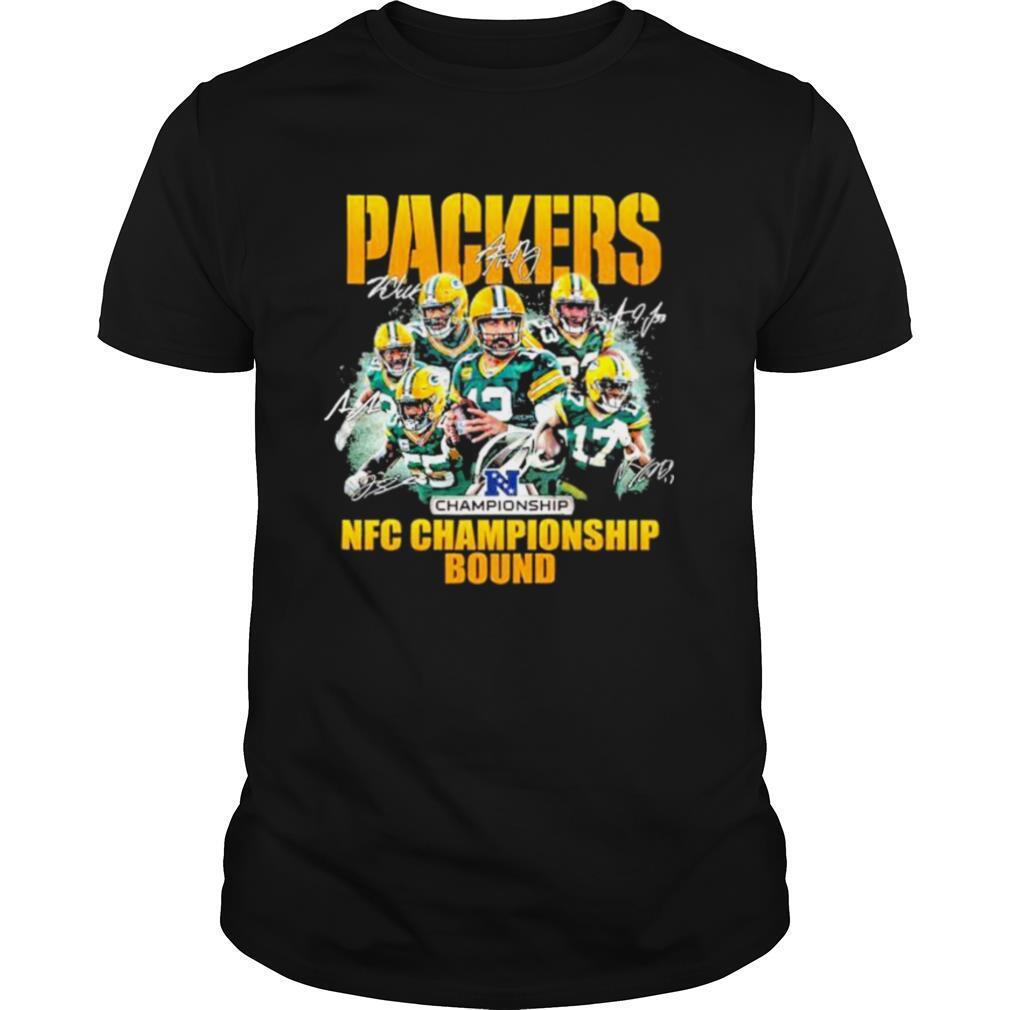 Packers nfc championship bound 2021 shirt Classic Men's