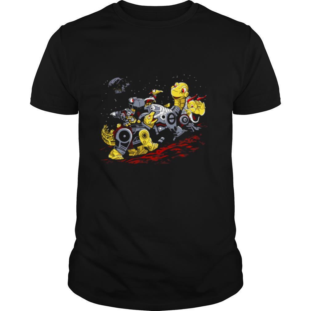 Star Zords before time Powers Ranger shirt Classic Men's