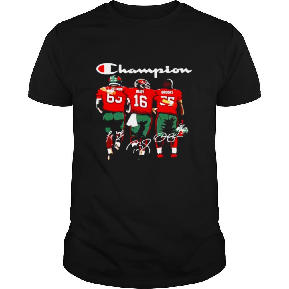Tampa Bay Buccaneers Selmon Brady And Brooks Champion shirt Classic Men's