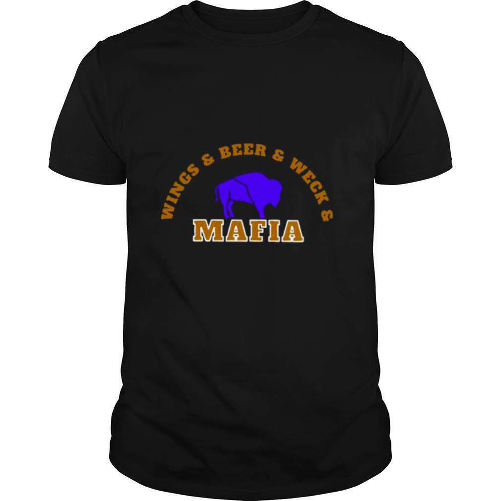 The Buffalo Bills Wings Beer And Wech Mafia 2021 shirt Classic Men's