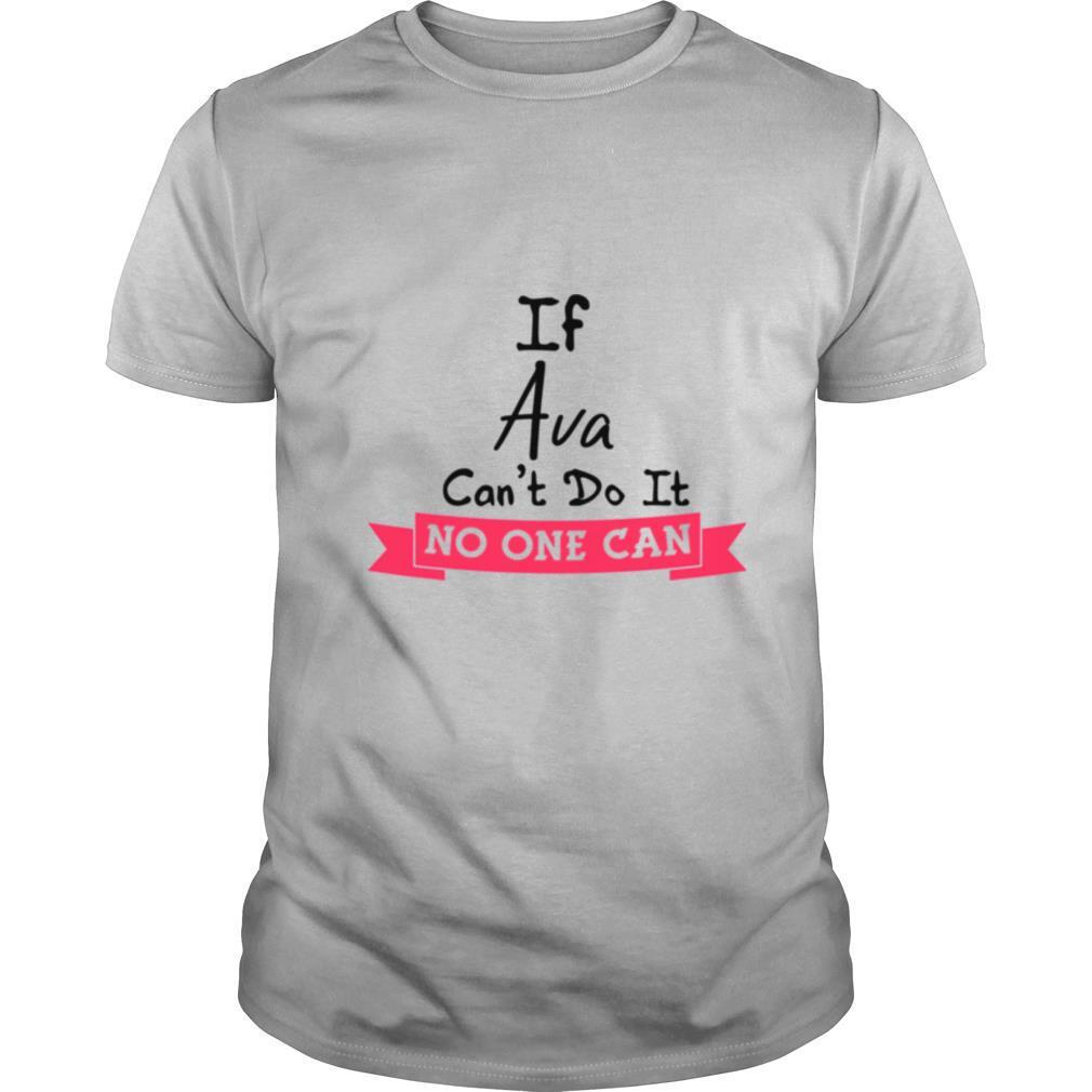 Birthday Idea Named Ava Girls Personalized Avas shirt Classic Men's