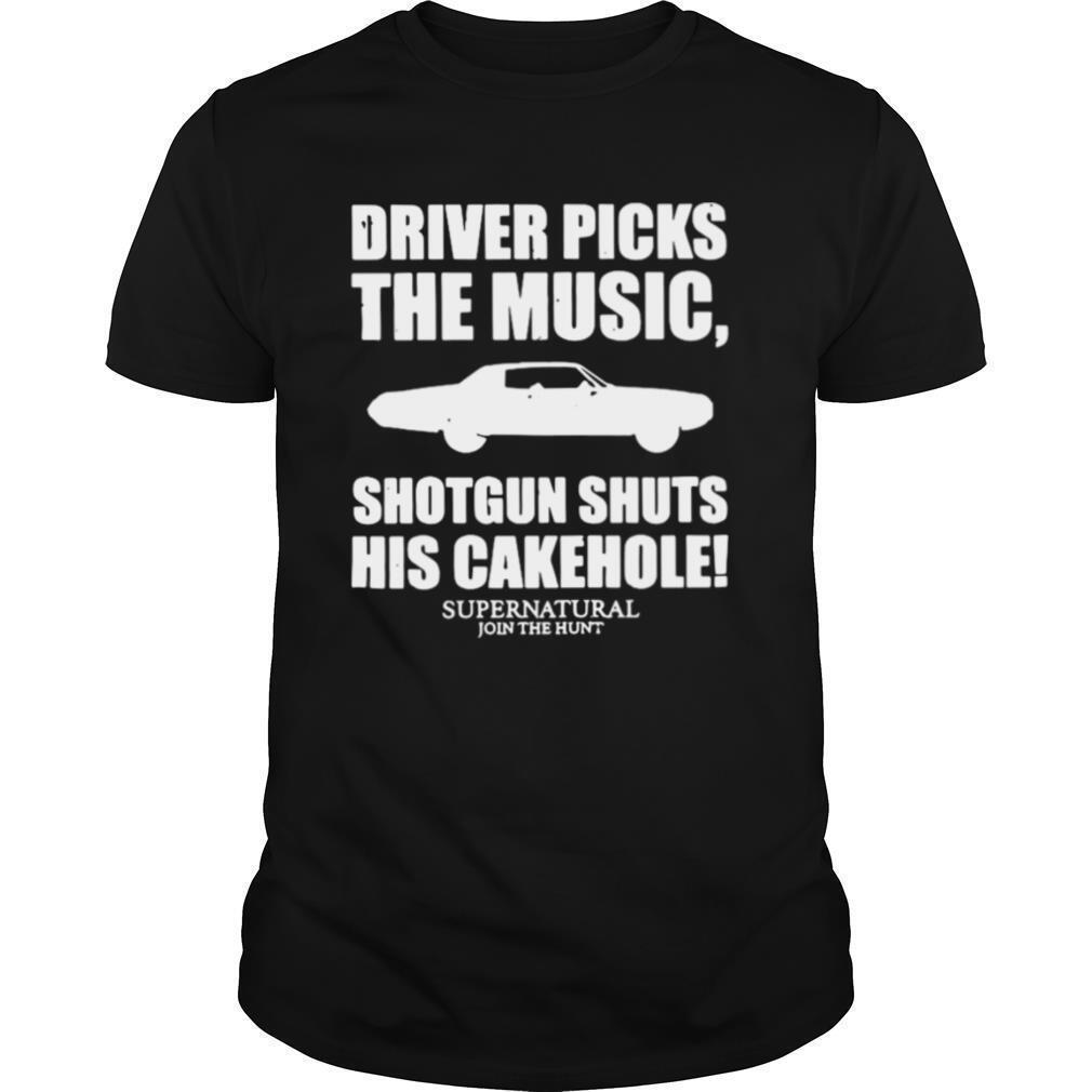 Driver Picks The Music Shotgun Shuts His Cakehole shirt Classic Men's