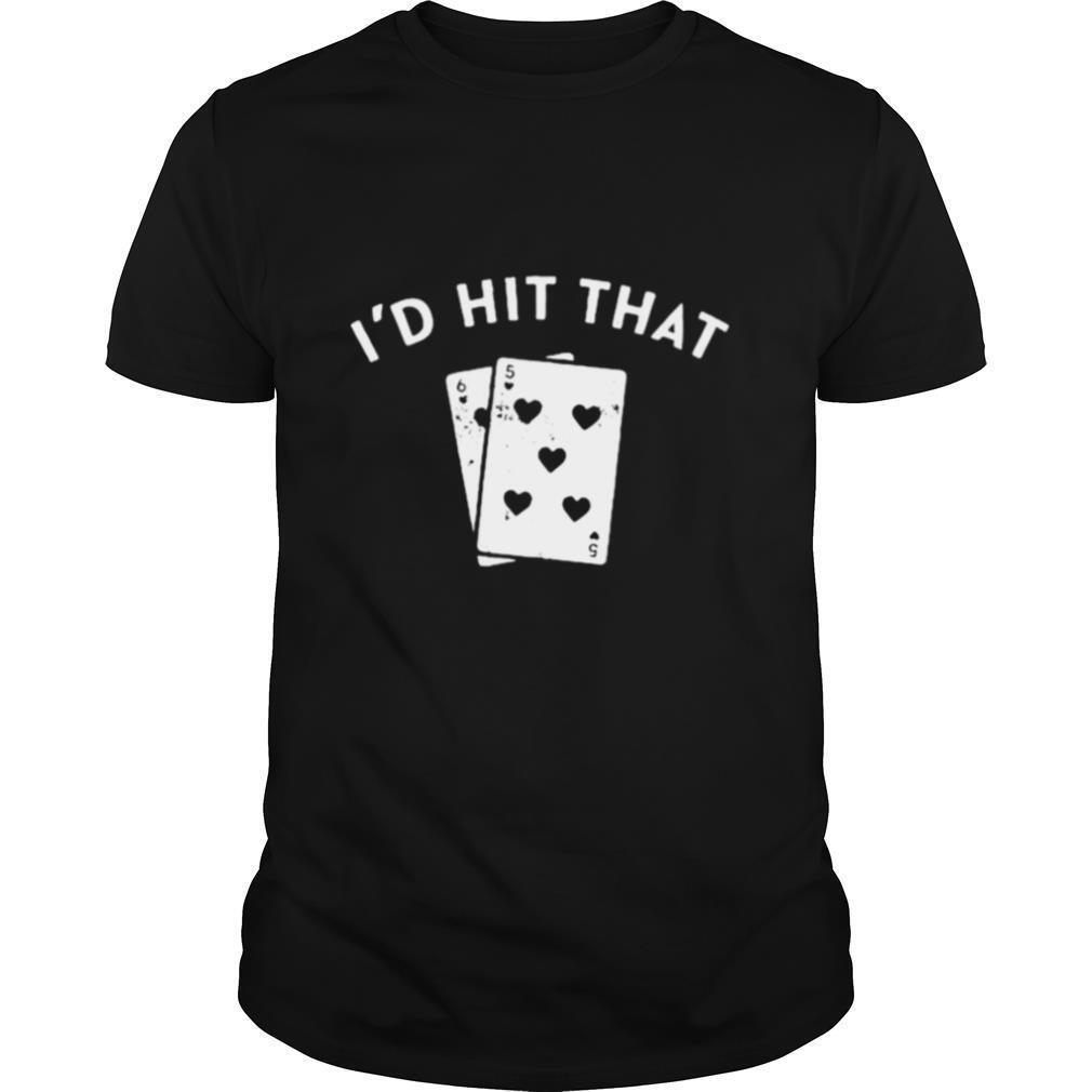 Id Hit That Blackjack shirt Classic Men's