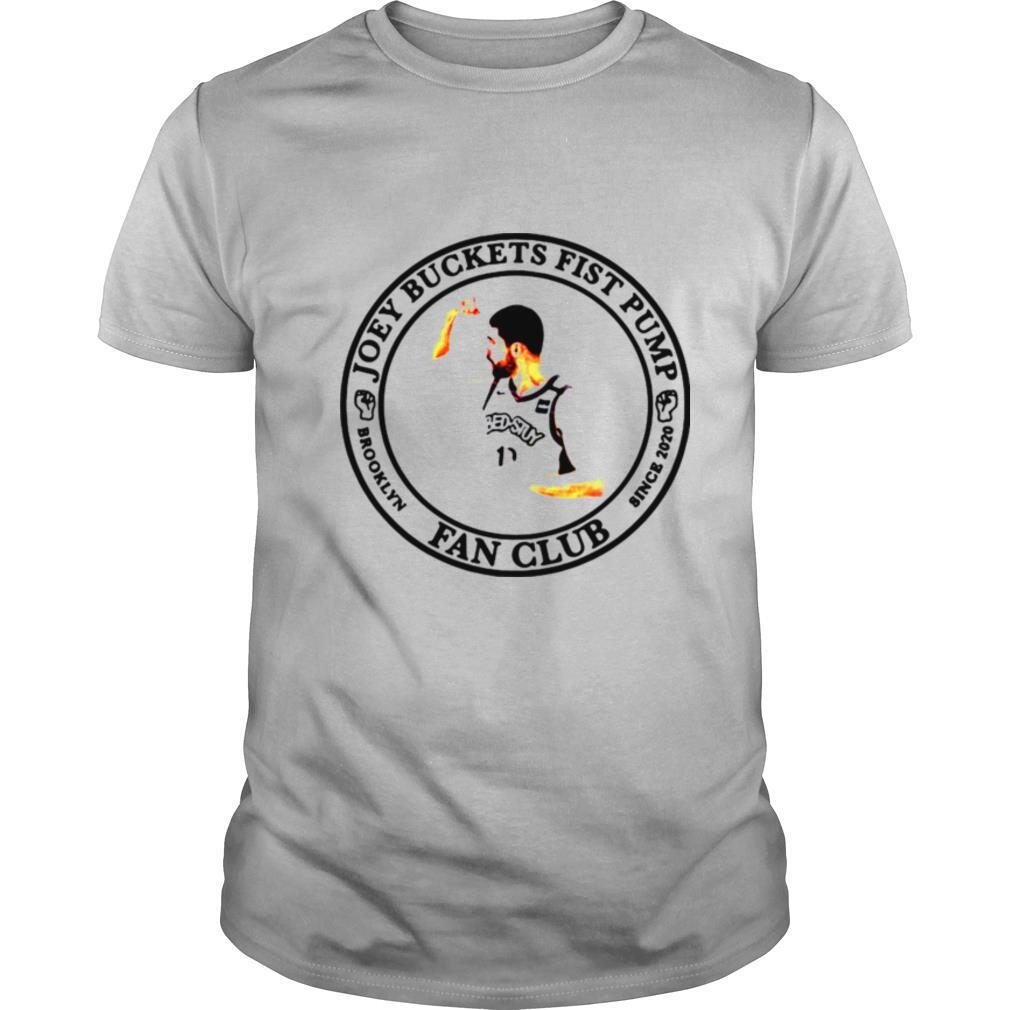 Joey Buckets Fist Pump Brooklyn Fan Club Since 2020 shirt Classic Men's