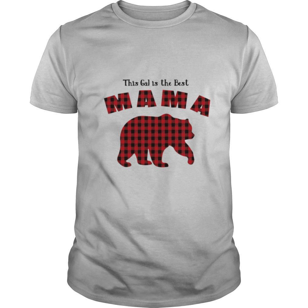 Mama Bear Plaid Proud Mothers Day Fun Mom shirt Classic Men's