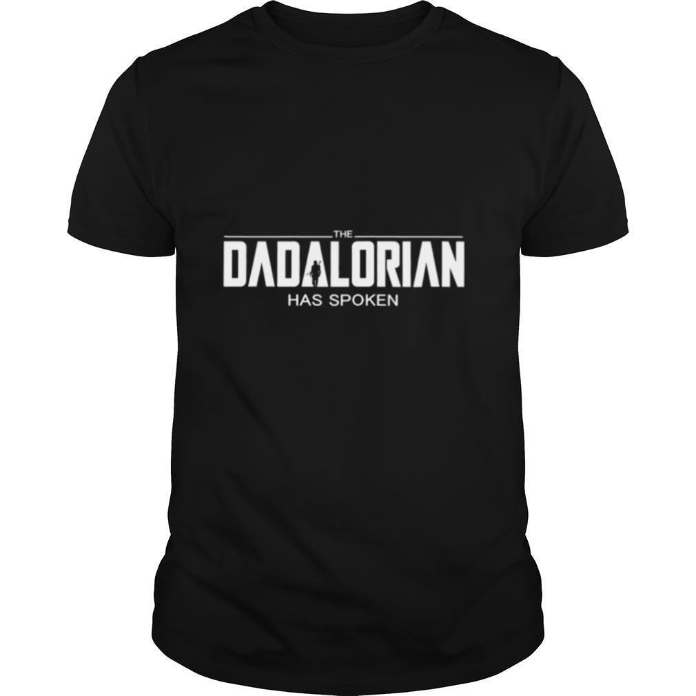The Dadalorian has spoken shirt Classic Men's