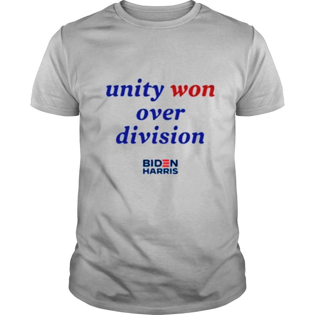 Unity won over division biden harris shirt Classic Men's