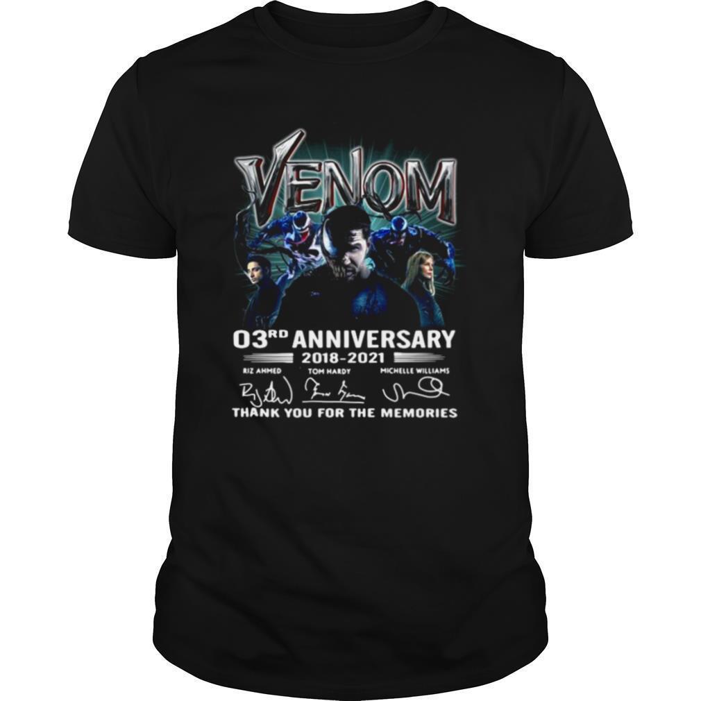 Venom 03rd anniversary thank you for the memories shirt Classic Men's