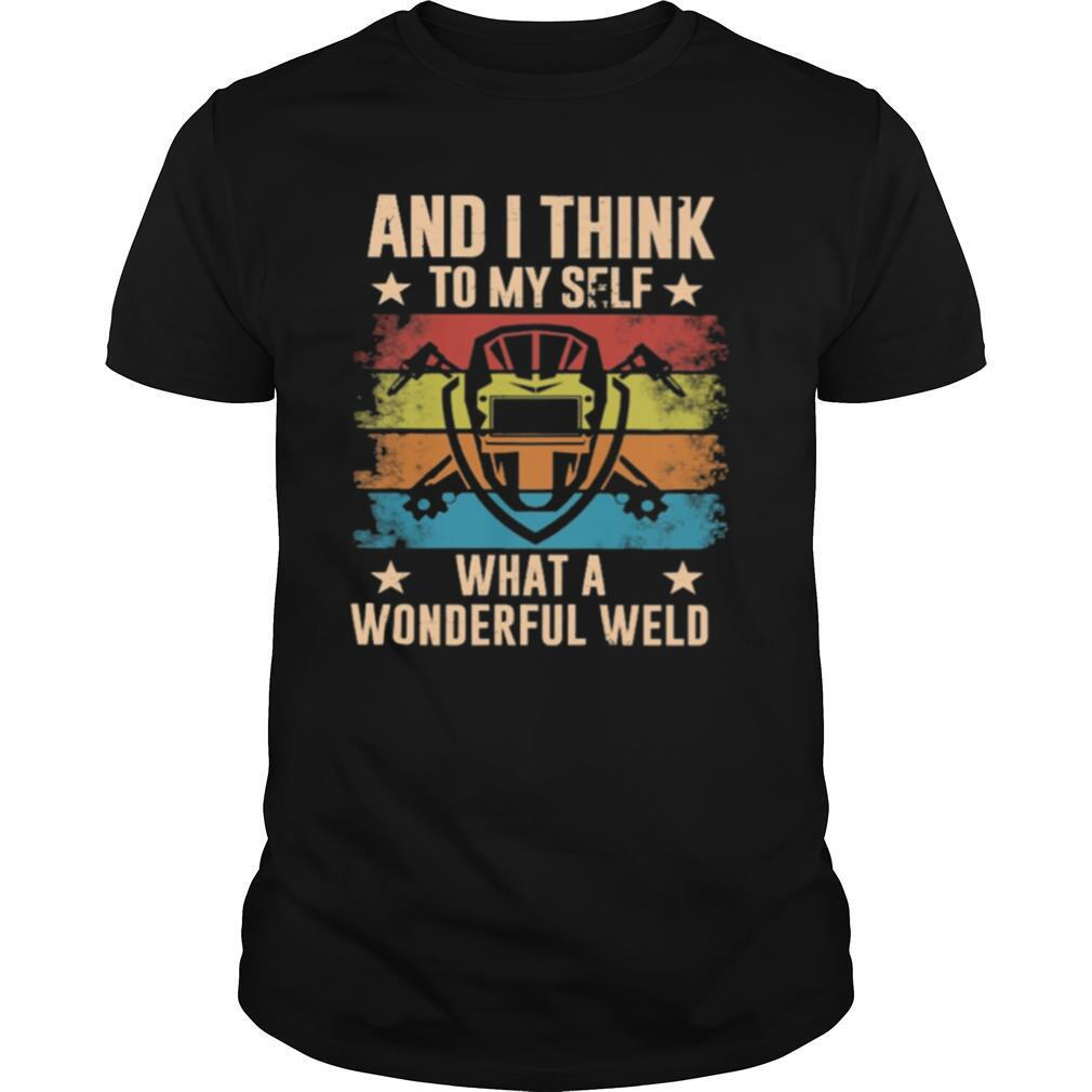 And I think to myself what a wonderful world vintage shirt Classic Men's