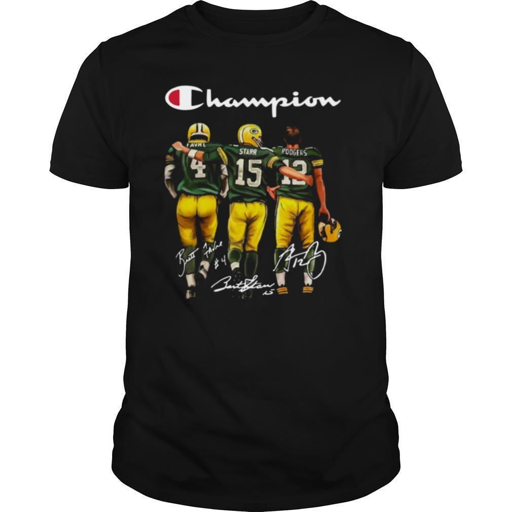 Champion Green Bay Packer Football Team shirt Classic Men's