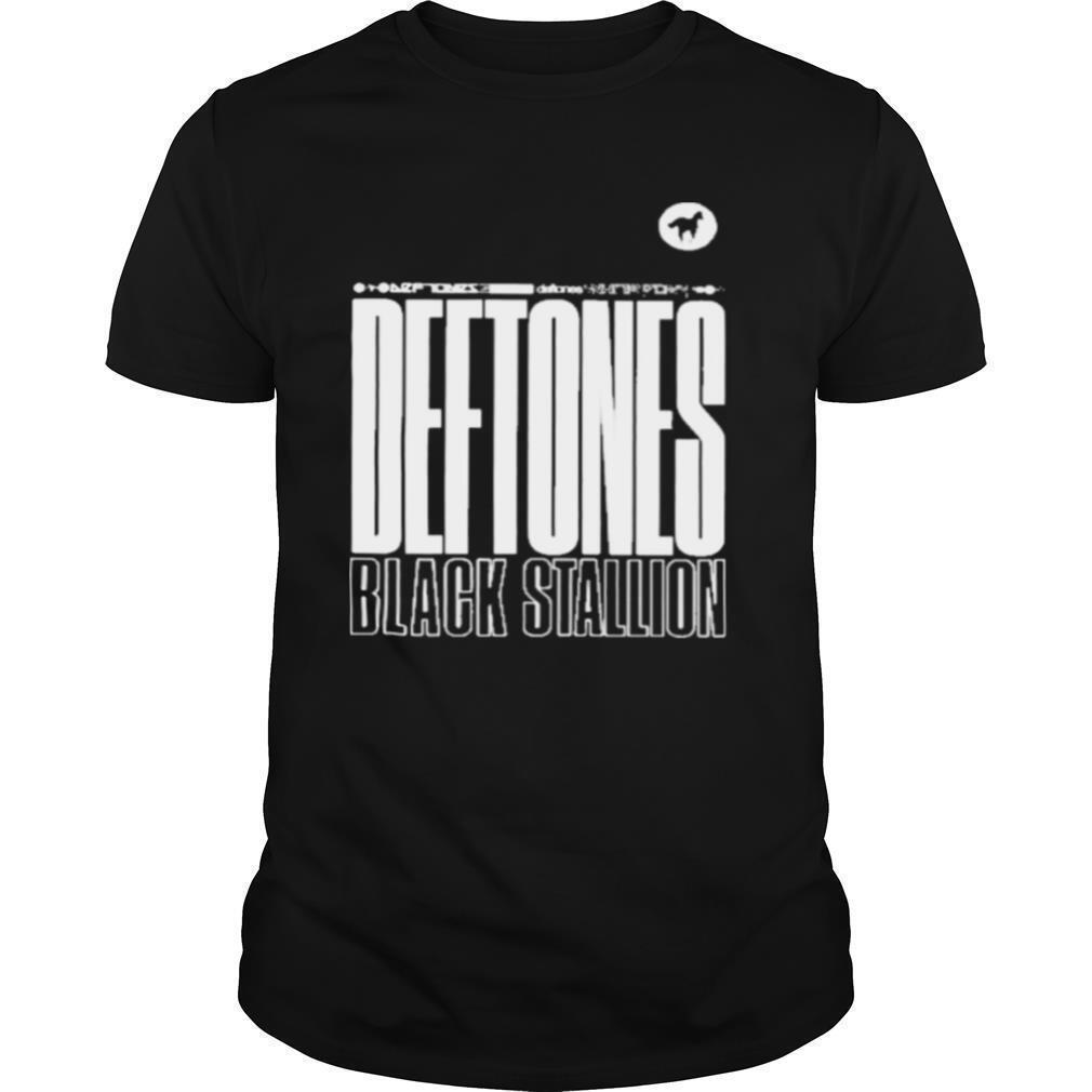 deftones black stallion shirt Classic Men's