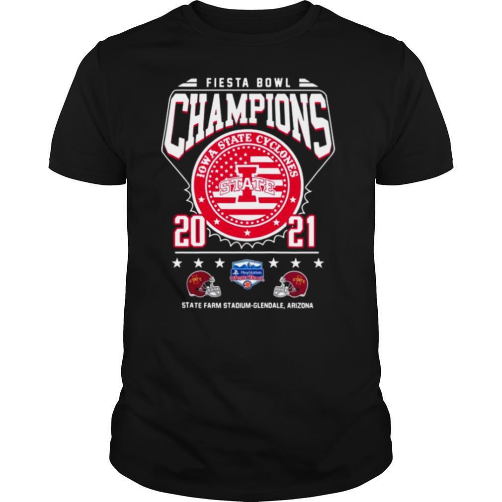 Fiesta Bowl Champions Iowa State Cyclones State 2021 State Farm Stadium Glendale Arizona shirt Classic Men's