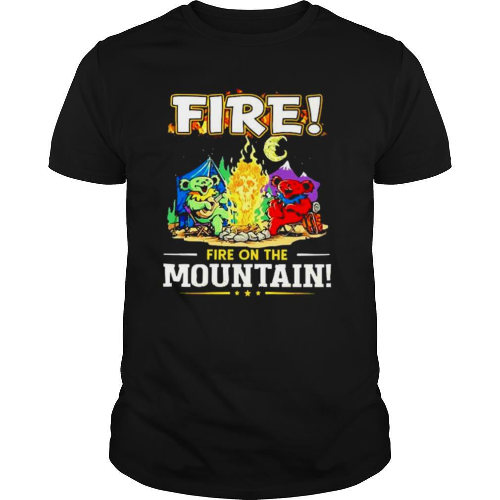 Fire on the Mountain Camping shirt Classic Men's