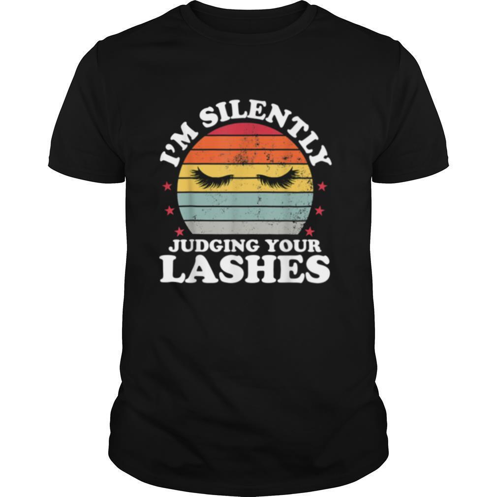 Judging Your Lash Cosmetologist Artist Eyelash shirt Classic Men's