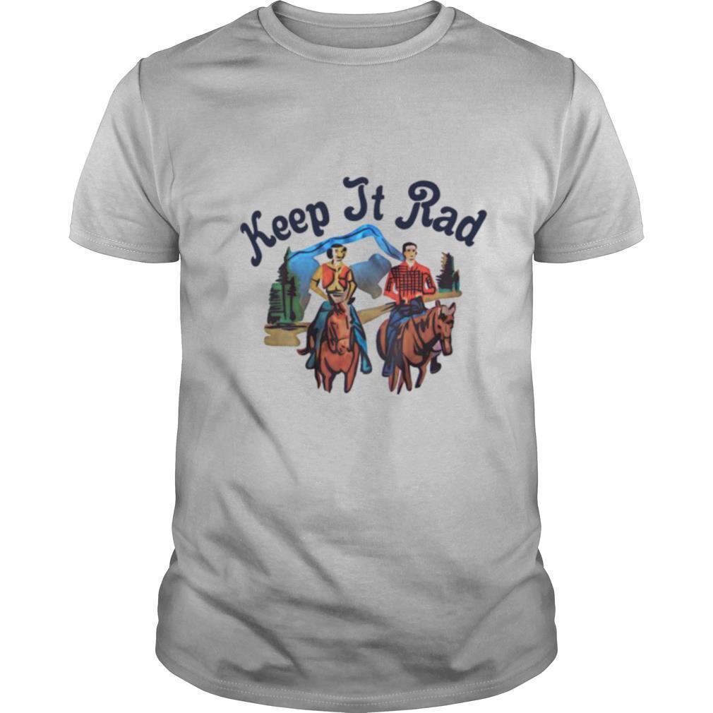 Keep It Rad Loves Horse Riding shirt Classic Men's