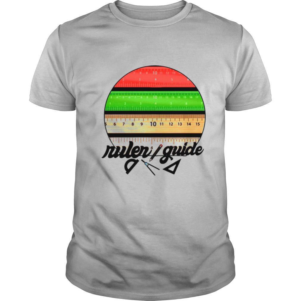Ruler Guide Pen Par DaliaAli shirt Classic Men's