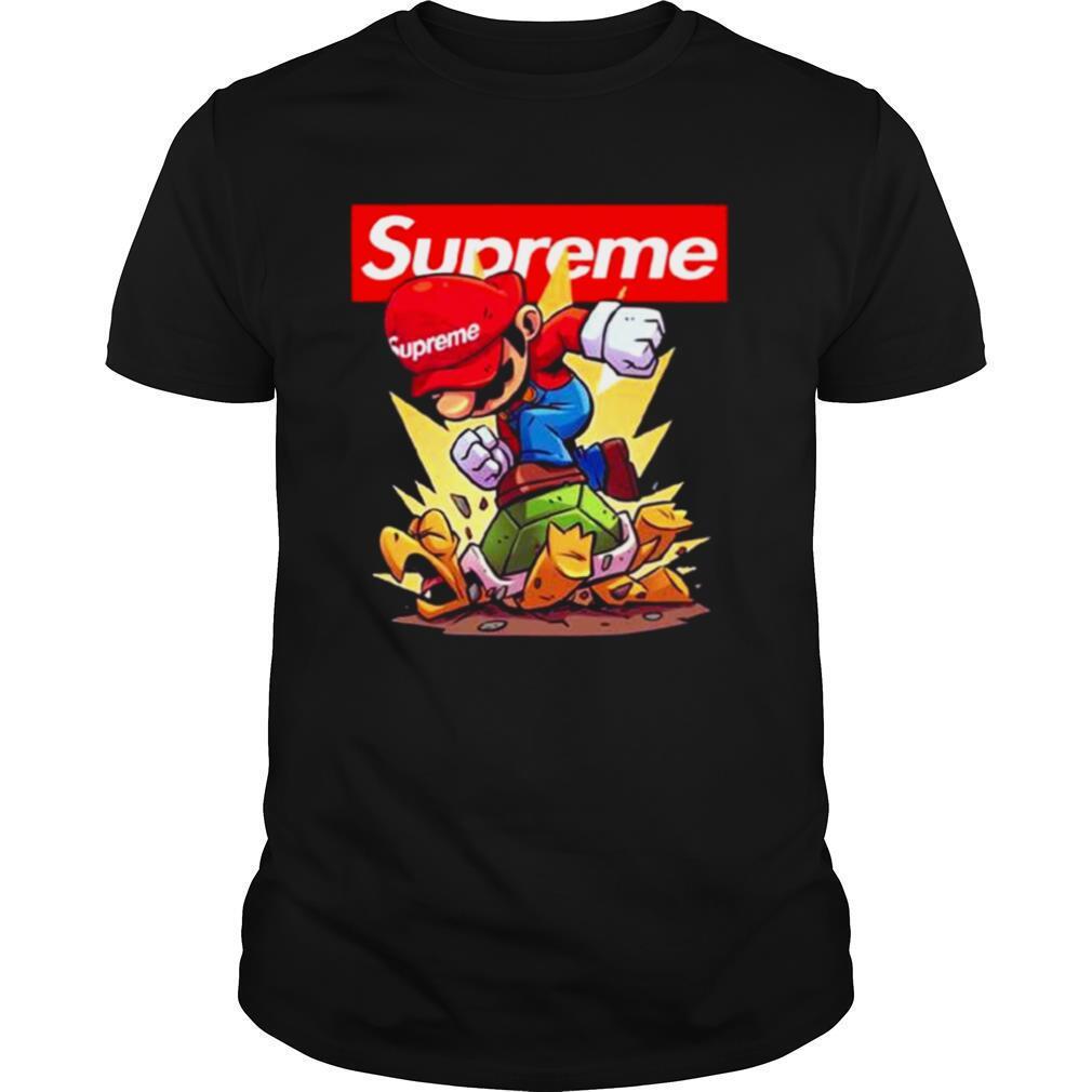 Supreme Mario Gaming shirt Classic Men's