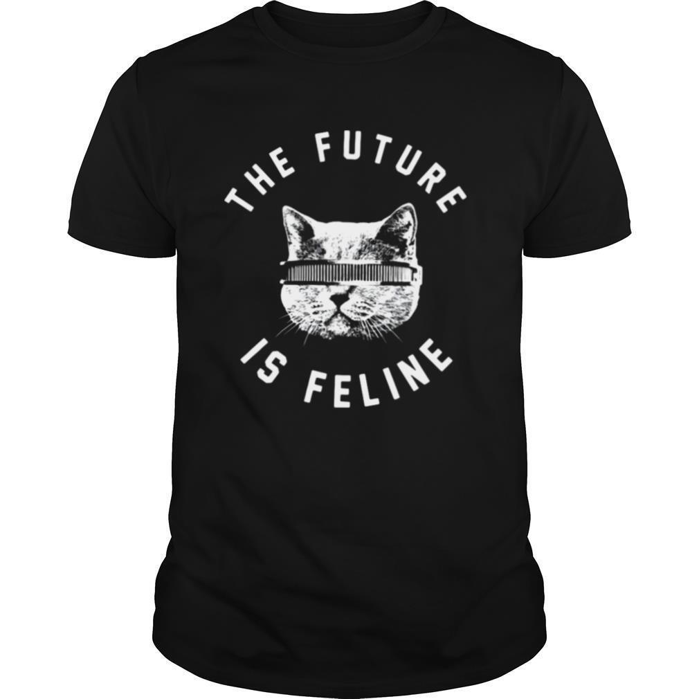 The Future Is Feline Cat Funny shirt Classic Men's