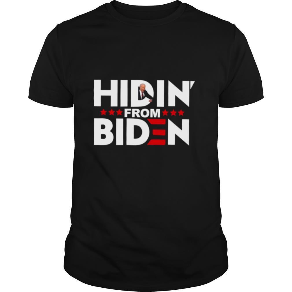 Hiden from biden shirt Classic Men's