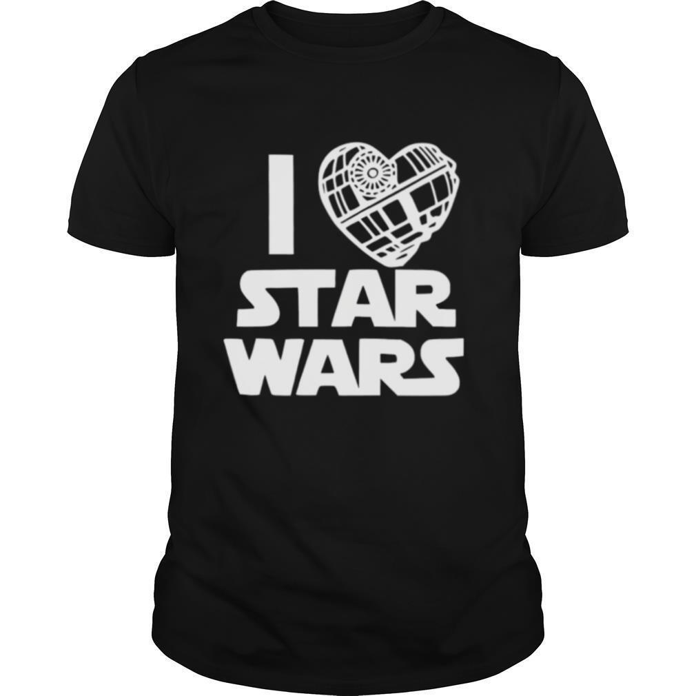 I Love Star Wars shirt Classic Men's