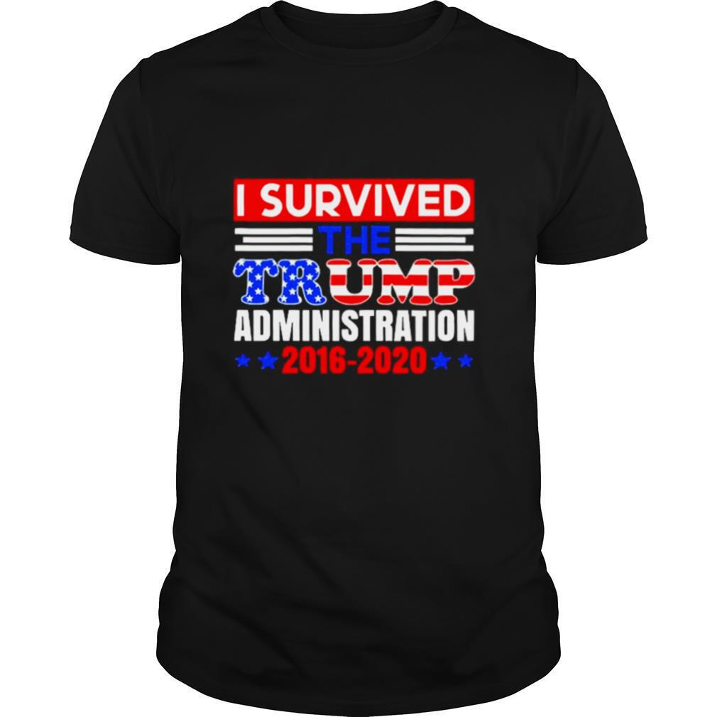 I Survived The Trump Administration shirt Classic Men's