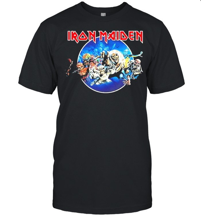 Iron Maiden 'Wasted Years Circle' shirt Classic Men's T-shirt