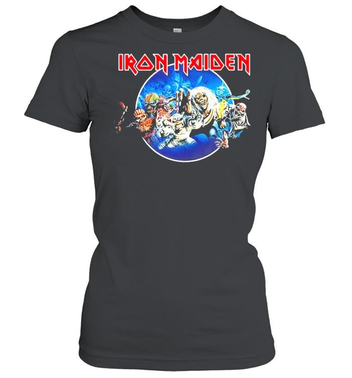 Iron Maiden 'Wasted Years Circle' shirt Classic Women's T-shirt