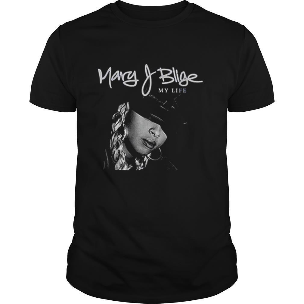 Mary J Blige My Life Tracklist shirt Classic Men's