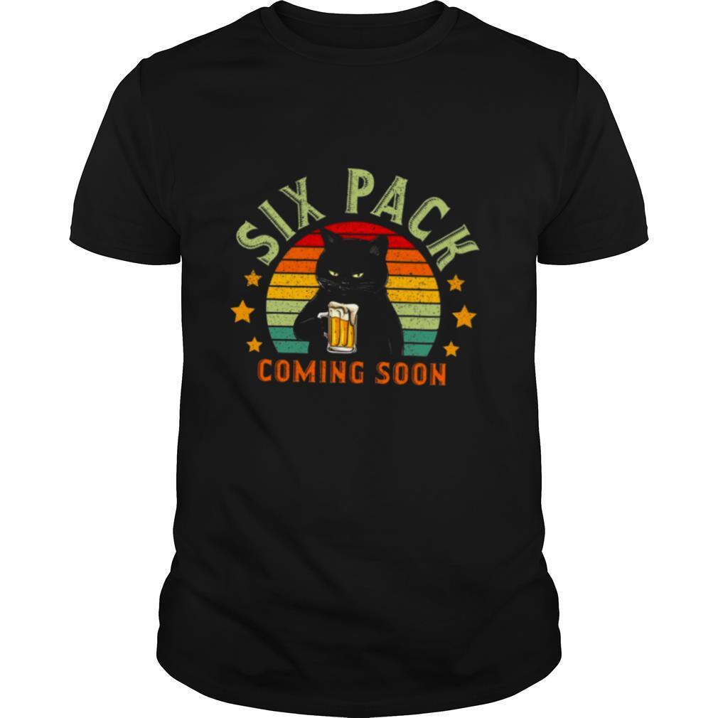 Six Pack Coming Soon shirt Classic Men's