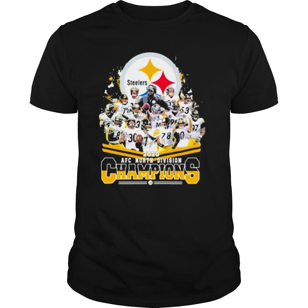 Steelers Logo 2020 Afc North Divison Champions shirt Classic Men's