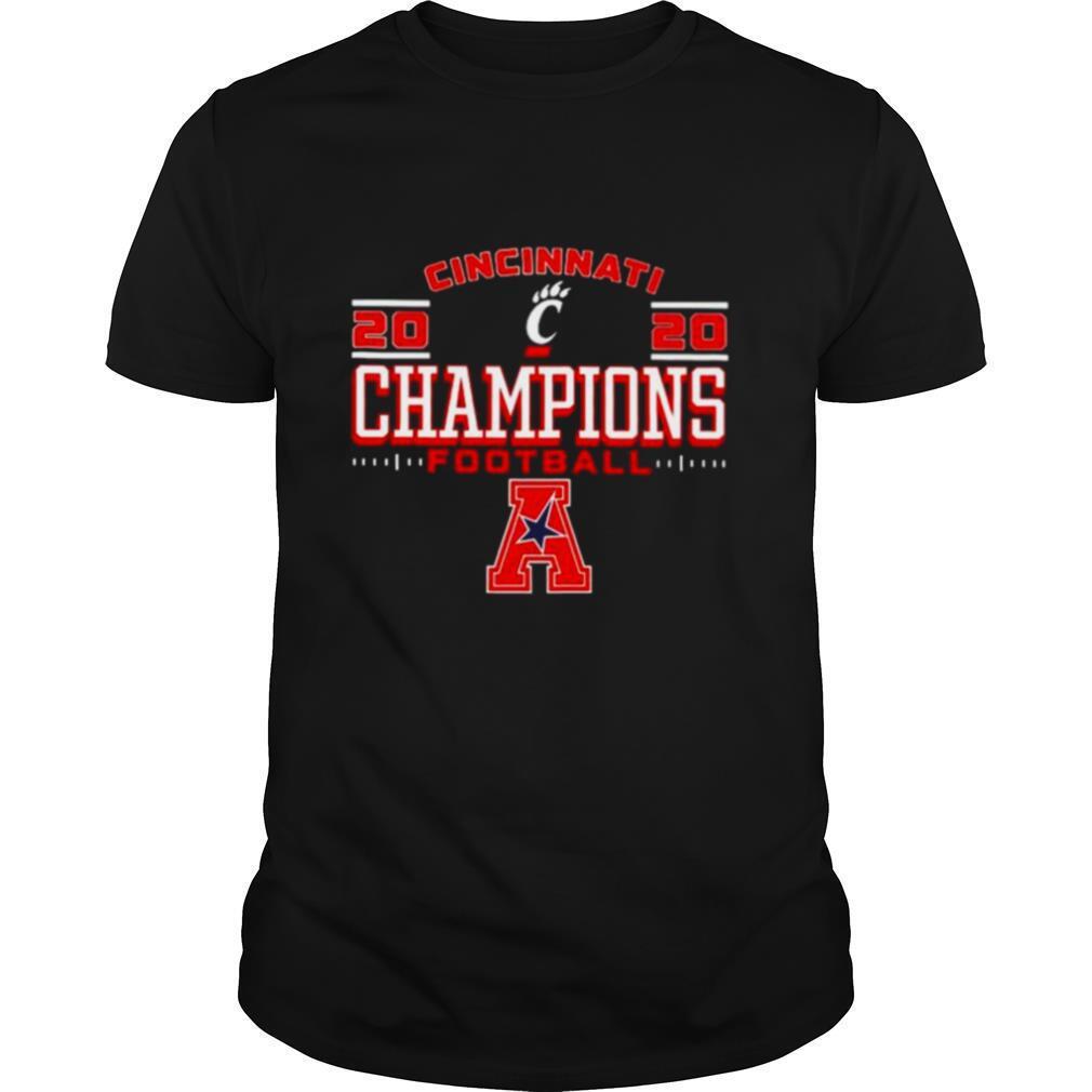 Cincinnati Bearcats 2020 ACC champions football shirt Classic Men's