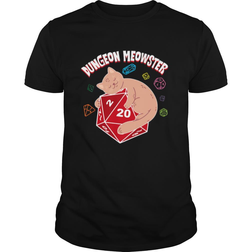Dungeon Meowster shirt Classic Men's