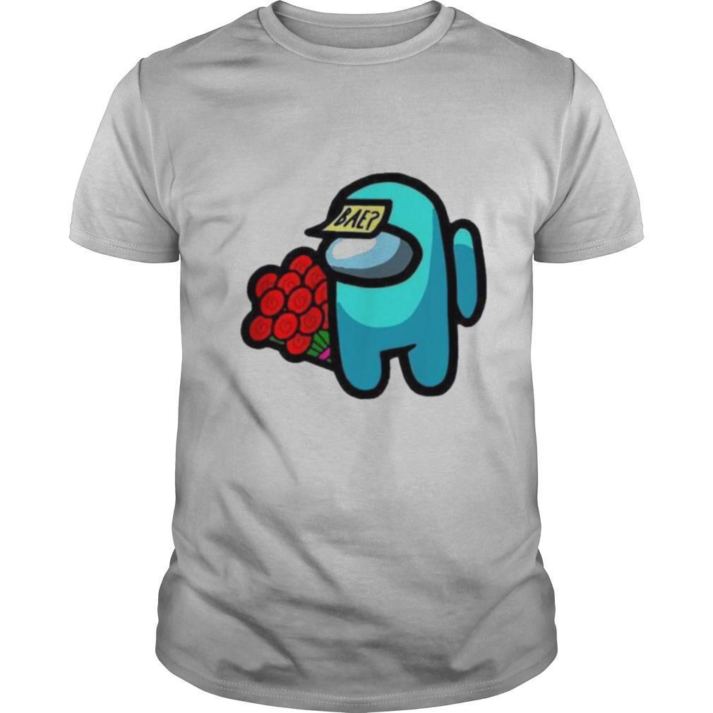 Impostor among us valentine 2021 bae flower shirt Classic Men's