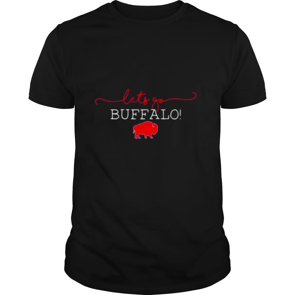 lets go buffalo bills shirt Classic Men's
