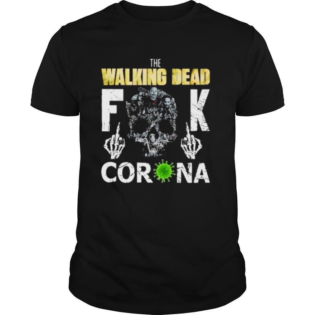 The Walking Dead Fuck Corona shirt Classic Men's