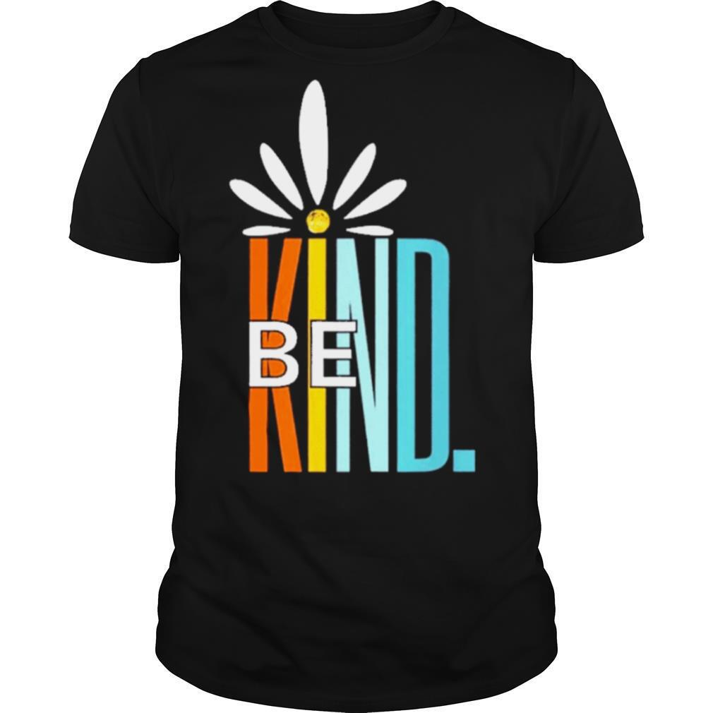 Be kind white daisy inspirational cute blessed love shirt Classic Men's