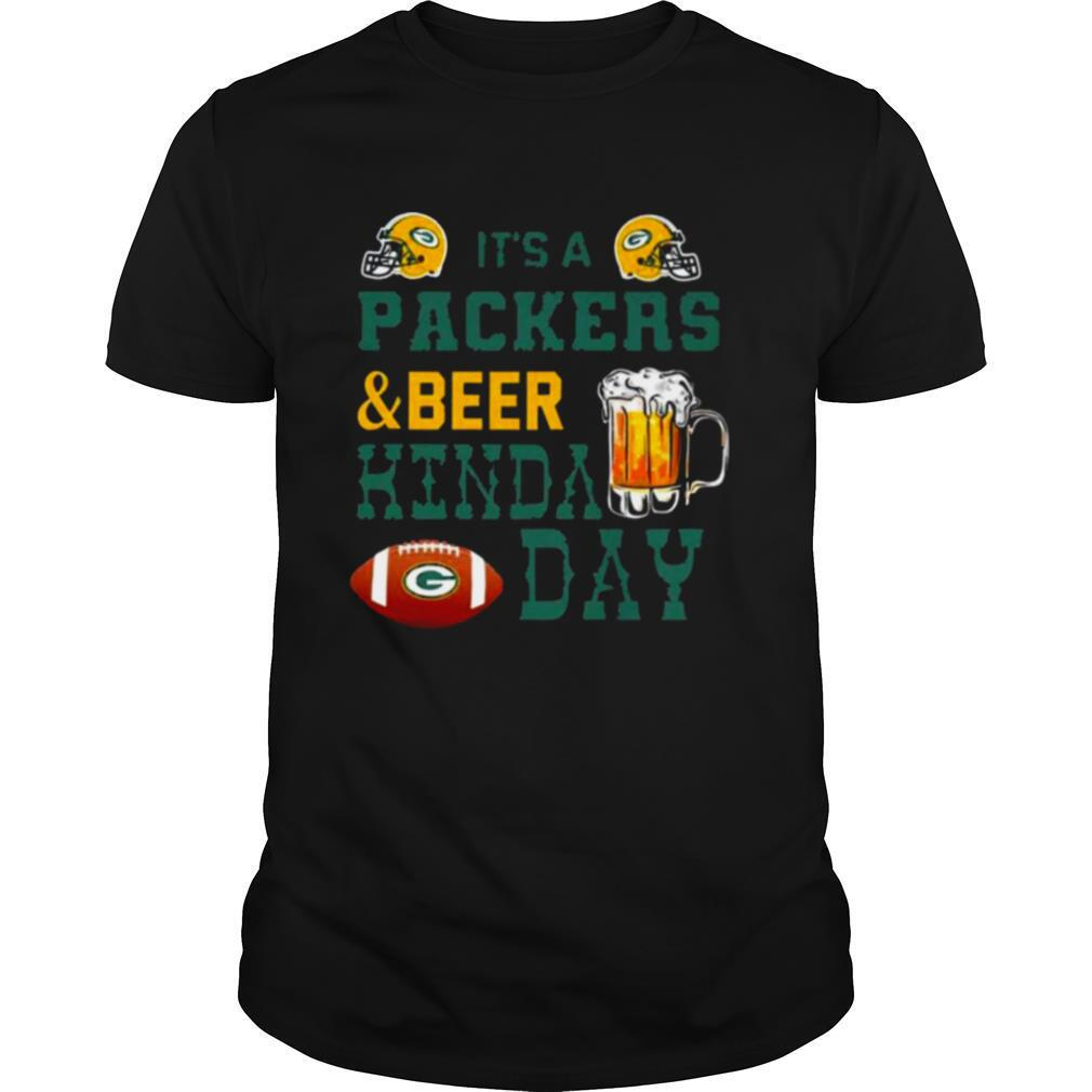 Its a Packers and Beer kinda day shirt Classic Men's