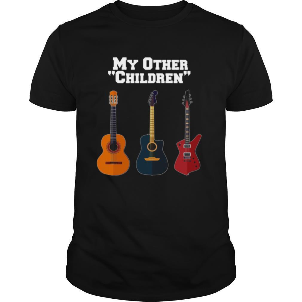 My Other Children Guitar shirt Classic Men's
